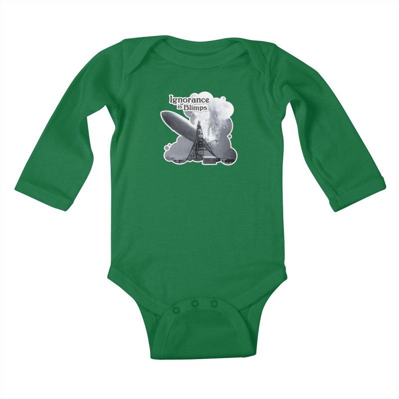 Ignorance Is Blimps Kids Baby Longsleeve Bodysuit by Zachary Knight | Artist Shop
