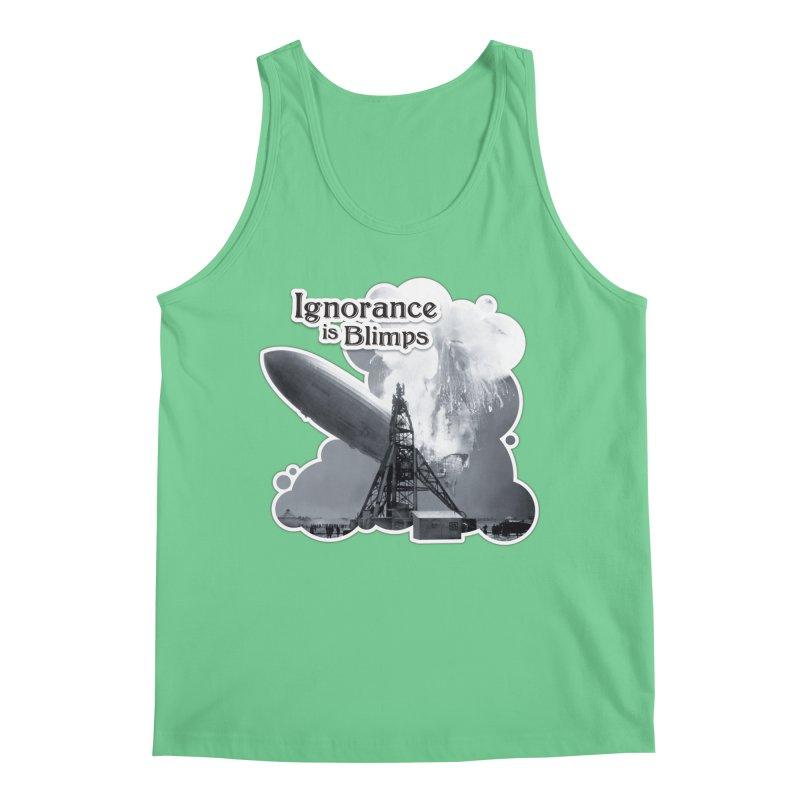 Ignorance Is Blimps Men's Regular Tank by Zachary Knight | Artist Shop