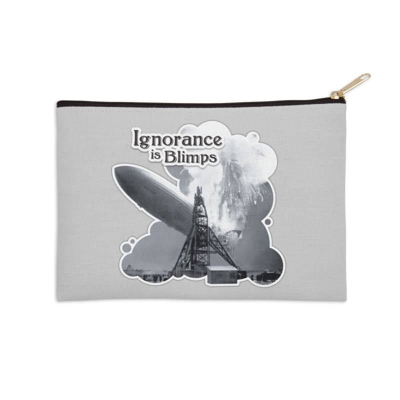 Ignorance Is Blimps Accessories Zip Pouch by Zachary Knight | Artist Shop