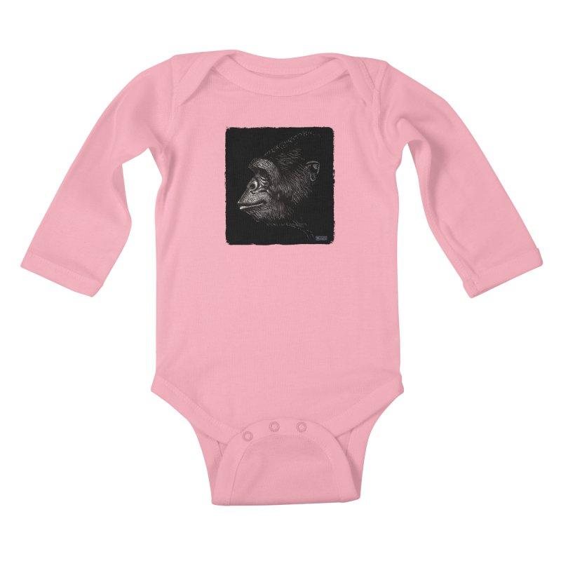 Koko Kids Baby Longsleeve Bodysuit by Zachary Knight | Artist Shop