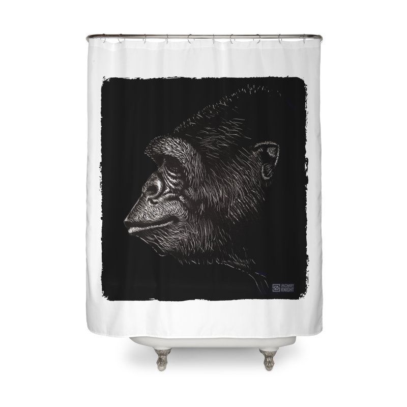 Koko Home Shower Curtain by Zachary Knight | Artist Shop