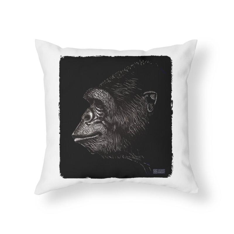 Koko Home Throw Pillow by Zachary Knight | Artist Shop