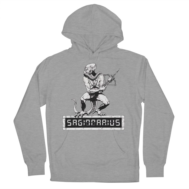 Sagittarius Women's French Terry Pullover Hoody by Zachary Knight | Artist Shop