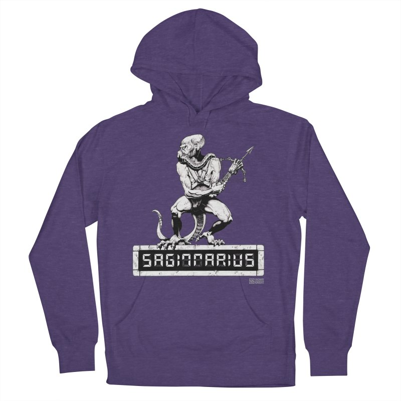 Sagittarius Men's French Terry Pullover Hoody by Zachary Knight | Artist Shop