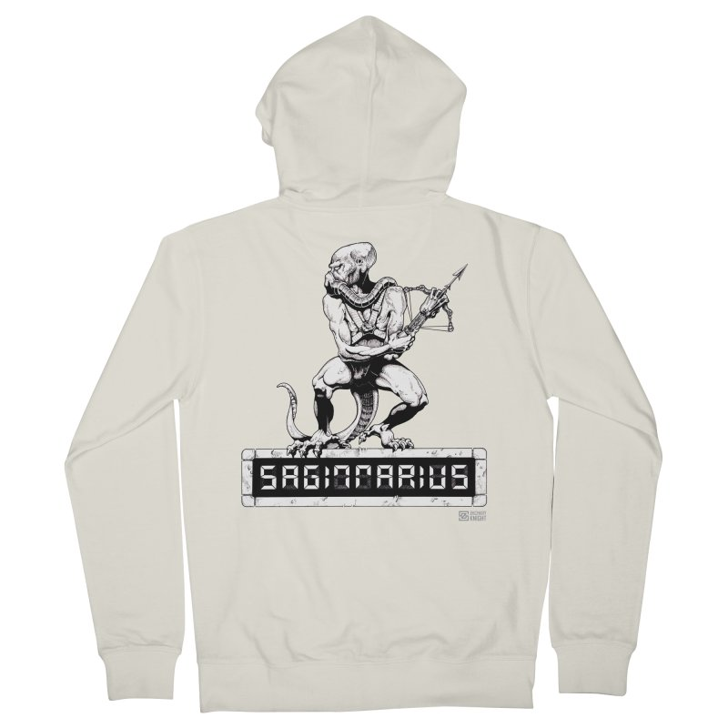 Sagittarius Women's French Terry Zip-Up Hoody by Zachary Knight | Artist Shop