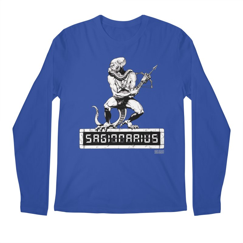 Sagittarius Men's Regular Longsleeve T-Shirt by Zachary Knight | Artist Shop