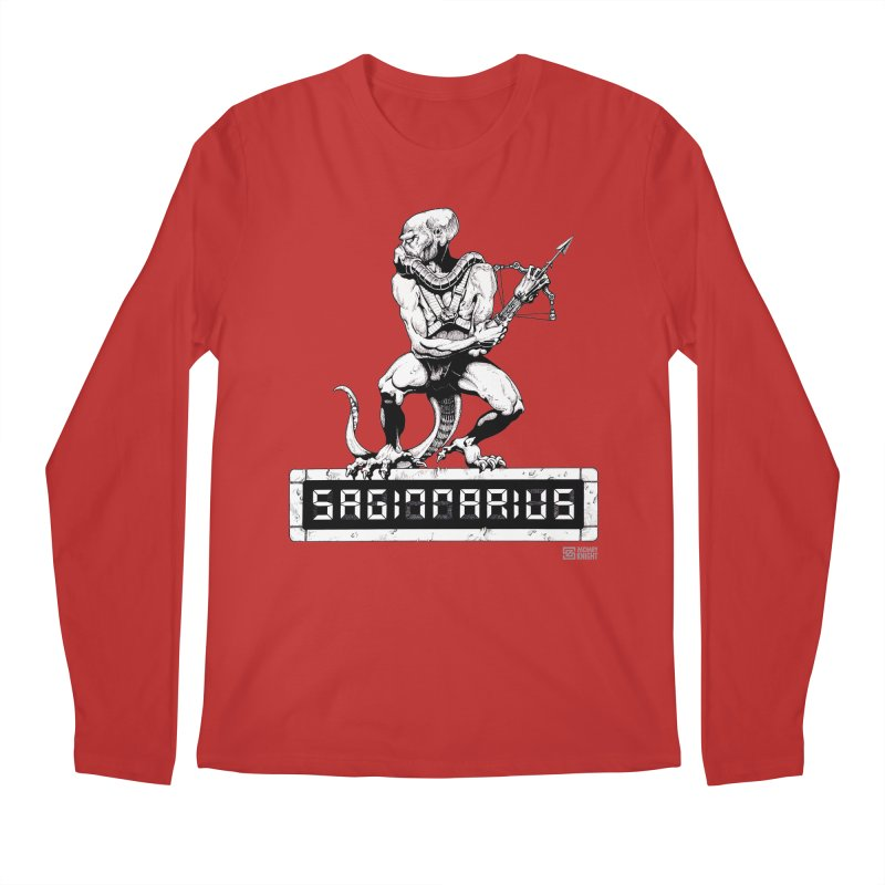 Sagittarius Men's Longsleeve T-Shirt by Zachary Knight | Artist Shop