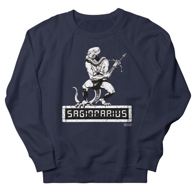 Sagittarius Men's French Terry Sweatshirt by Zachary Knight | Artist Shop