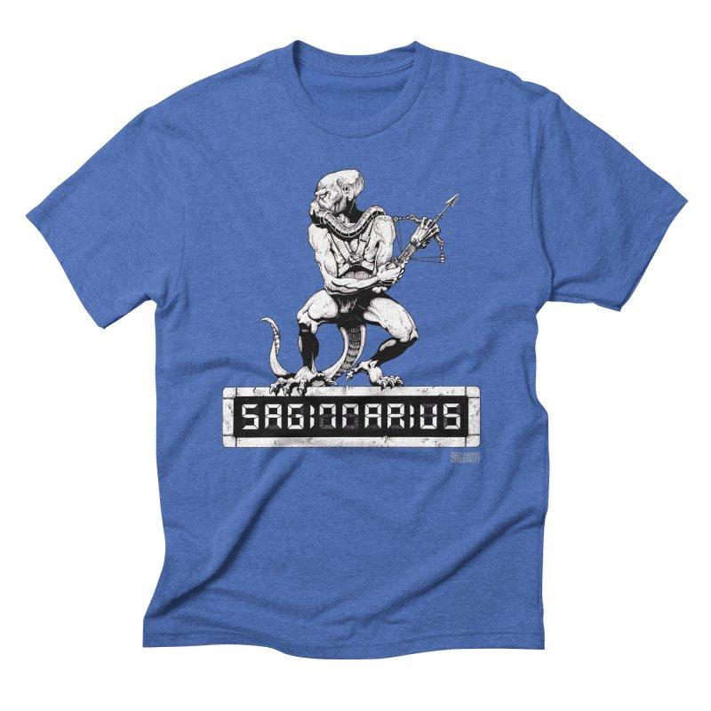 Sagittarius Men's Triblend T-Shirt by Zachary Knight | Artist Shop