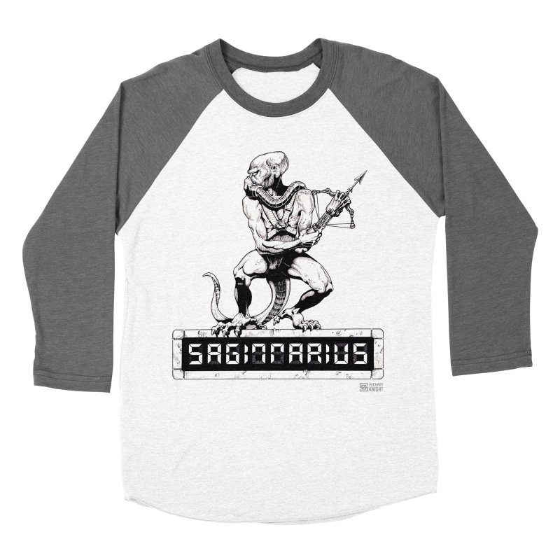 Sagittarius Women's Baseball Triblend T-Shirt by Zachary Knight | Artist Shop