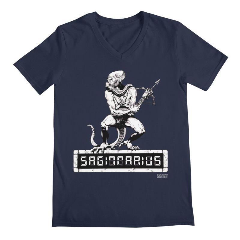 Sagittarius Men's V-Neck by Zachary Knight | Artist Shop