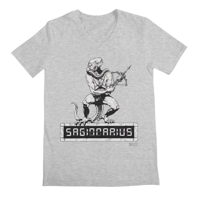 Sagittarius Men's Regular V-Neck by Zachary Knight | Artist Shop