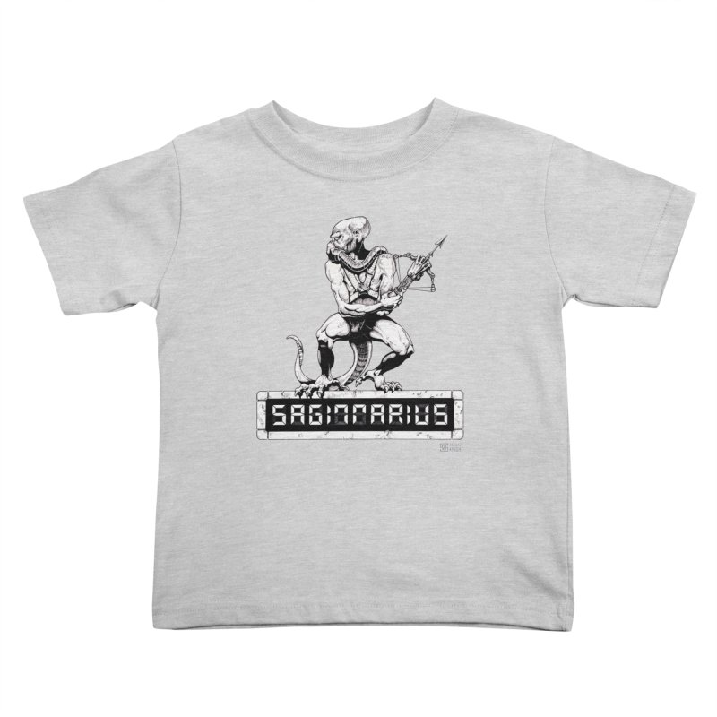 Sagittarius Kids Toddler T-Shirt by Zachary Knight | Artist Shop