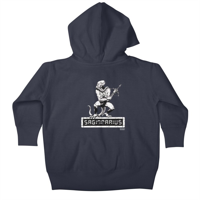 Sagittarius Kids Baby Zip-Up Hoody by Zachary Knight | Artist Shop