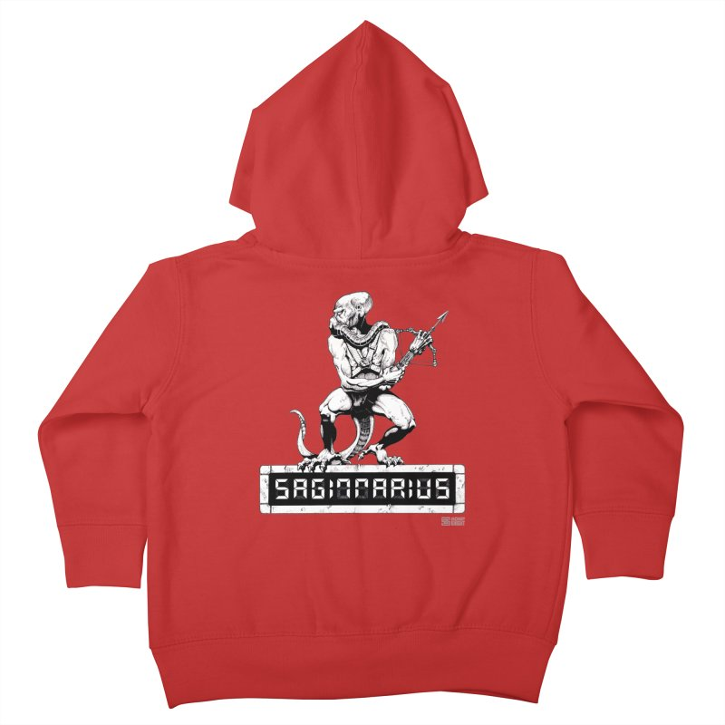 Sagittarius Kids Toddler Zip-Up Hoody by Zachary Knight | Artist Shop