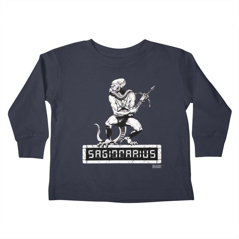 Sagittarius Kids Toddler Longsleeve T-Shirt by Zachary Knight | Artist Shop