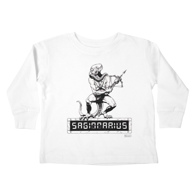 Sagittarius Kids Toddler Longsleeve T-Shirt by Zachary Knight | Artist Shop