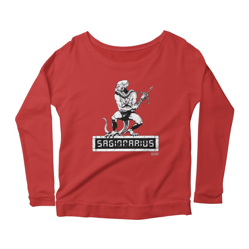 Sagittarius Women's Scoop Neck Longsleeve T-Shirt by Zachary Knight   Artist Shop