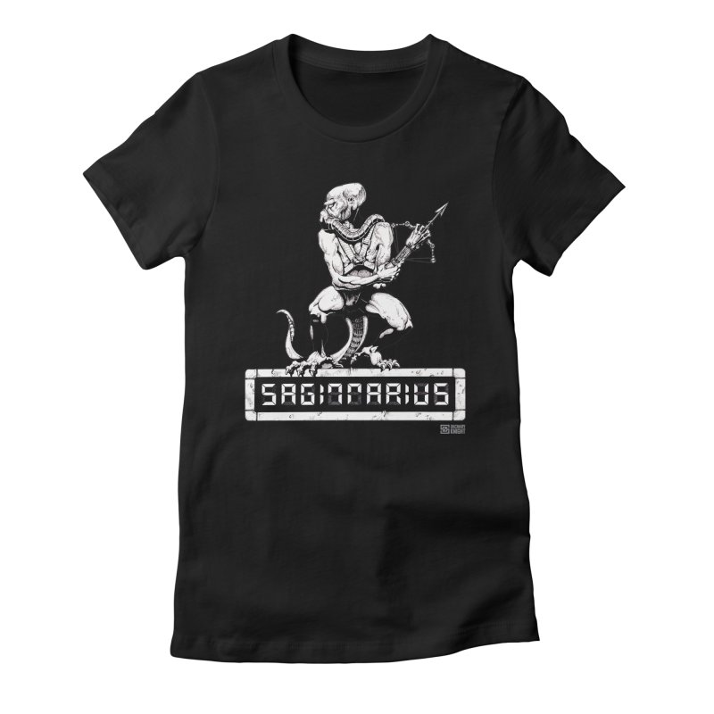 Sagittarius Women's Fitted T-Shirt by Zachary Knight | Artist Shop