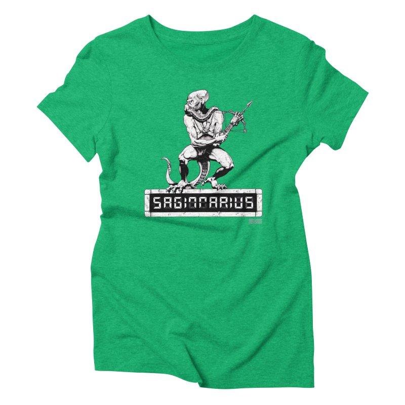 Sagittarius Women's Triblend T-Shirt by Zachary Knight   Artist Shop