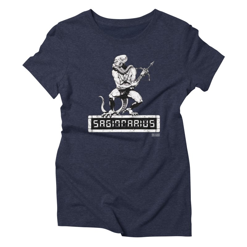 Sagittarius Women's Triblend T-Shirt by Zachary Knight | Artist Shop