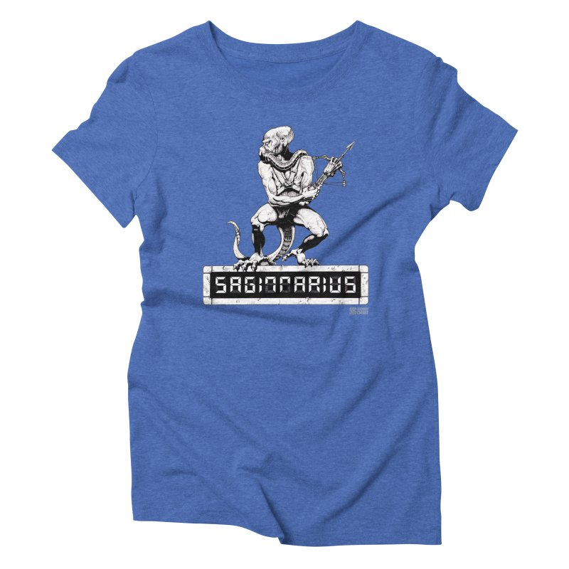 Sagittarius Women's Triblend T-shirt by Zachary Knight | Artist Shop
