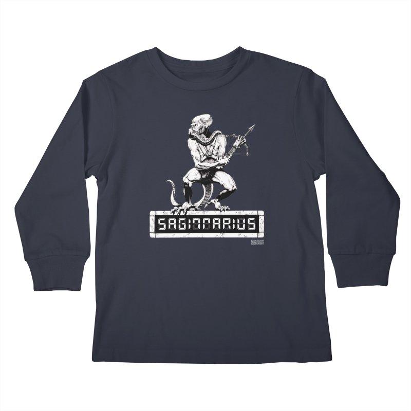 Sagittarius Kids Longsleeve T-Shirt by Zachary Knight   Artist Shop