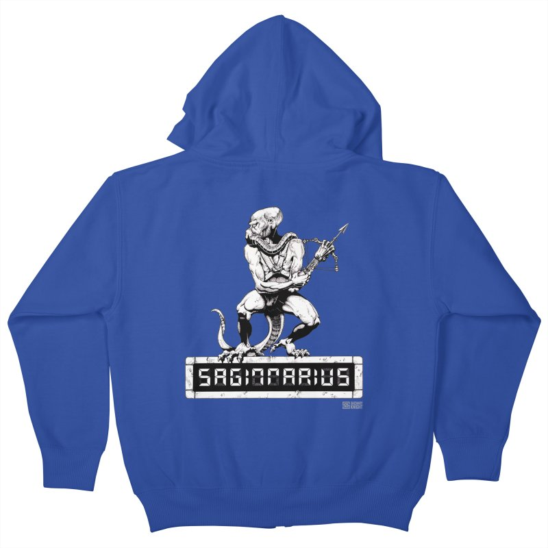 Sagittarius Kids Zip-Up Hoody by Zachary Knight | Artist Shop