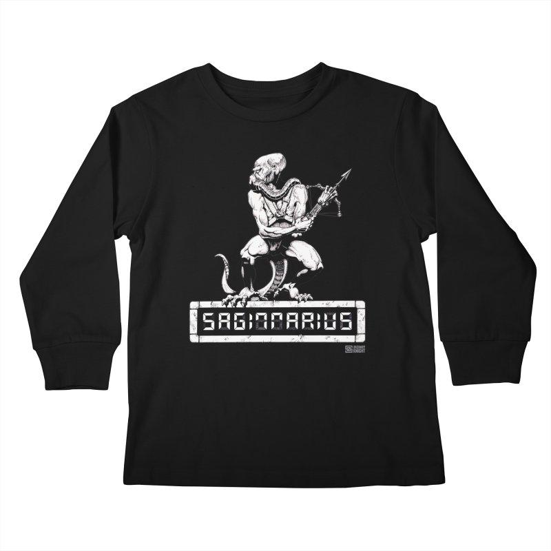 Sagittarius Kids Longsleeve T-Shirt by Zachary Knight | Artist Shop
