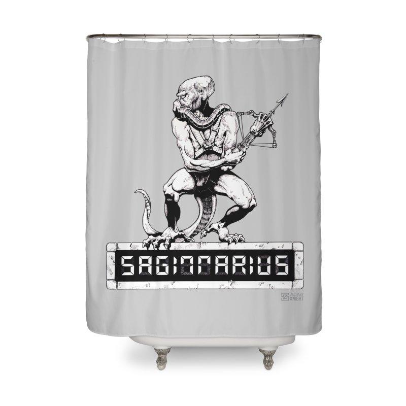 Sagittarius Home Shower Curtain by Zachary Knight | Artist Shop