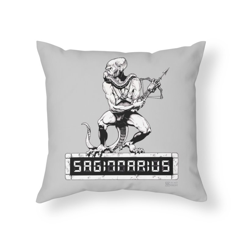 Sagittarius Home Throw Pillow by Zachary Knight | Artist Shop