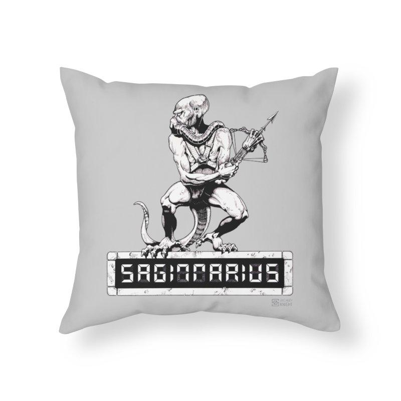 Sagittarius Home Throw Pillow by Zachary Knight | Artist Shop