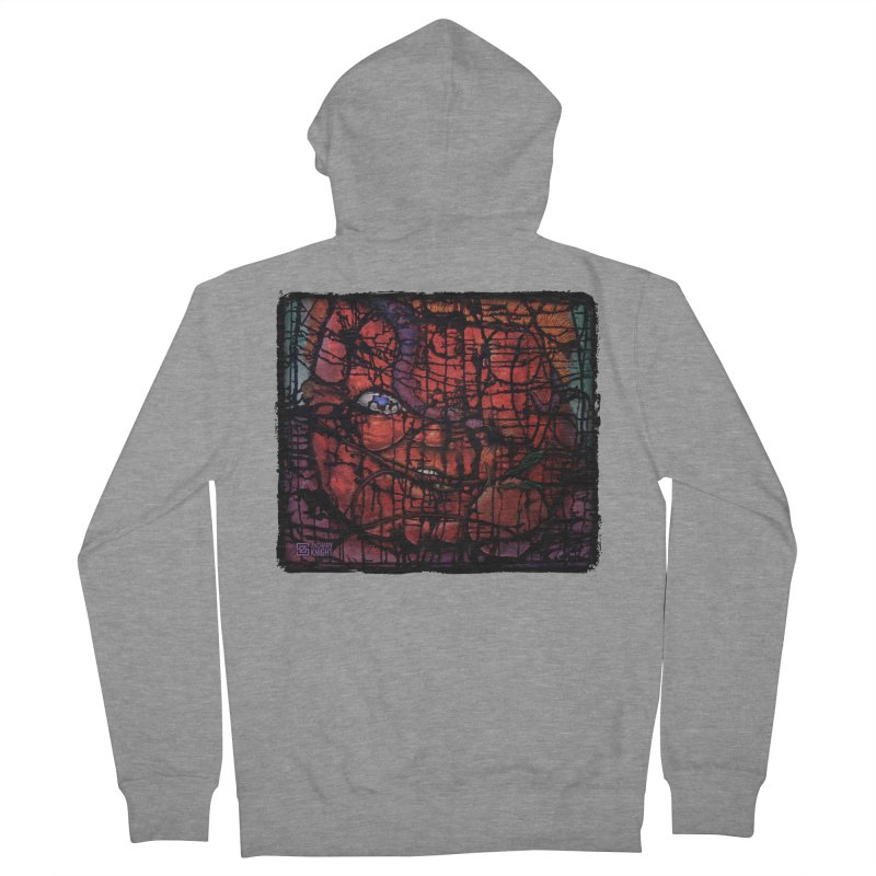 Stifle Men's French Terry Zip-Up Hoody by Zachary Knight | Artist Shop