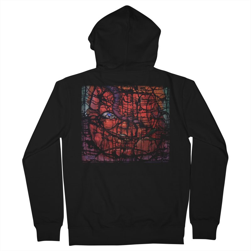 Stifle Men's Zip-Up Hoody by Zachary Knight | Artist Shop