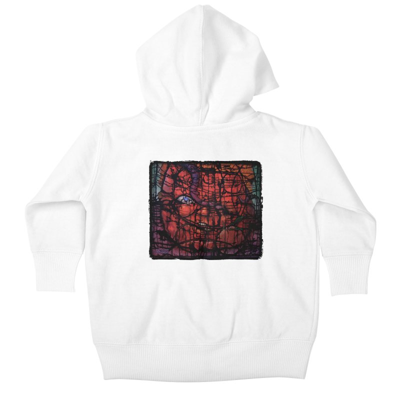 Stifle Kids Baby Zip-Up Hoody by Zachary Knight | Artist Shop
