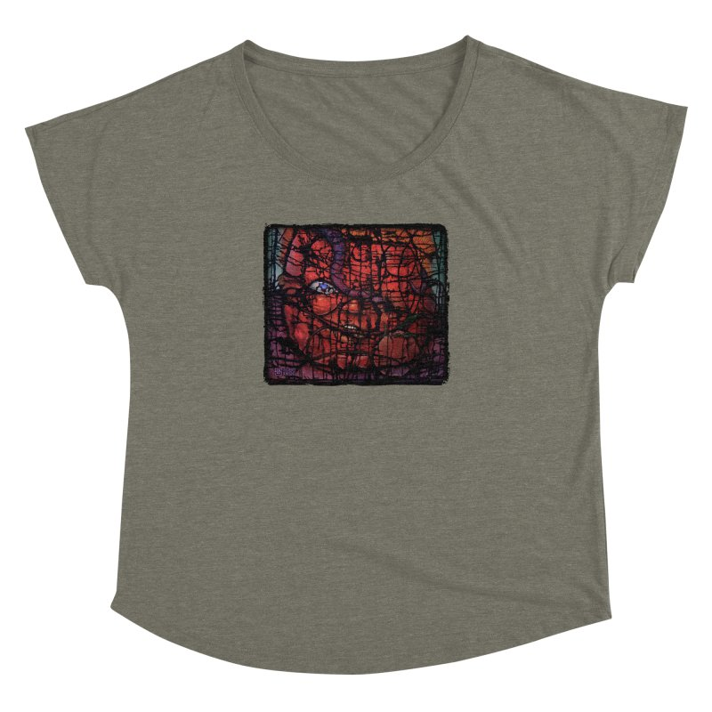 Stifle Women's Dolman Scoop Neck by Zachary Knight | Artist Shop