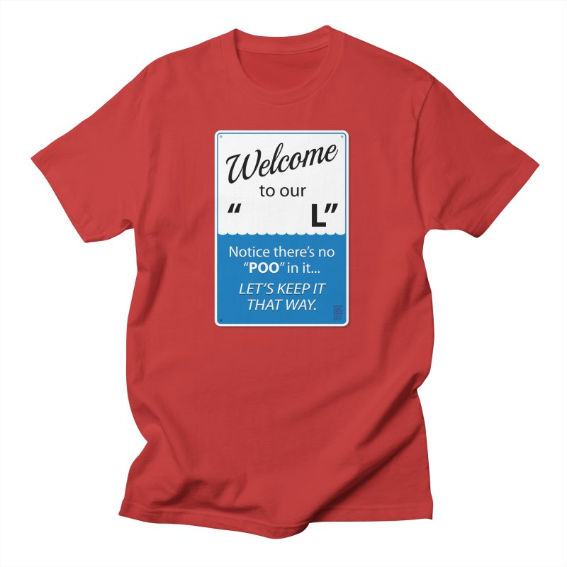 """Welcome To Our """"___L"""" Men's T-Shirt by Zachary Knight   Artist Shop"""