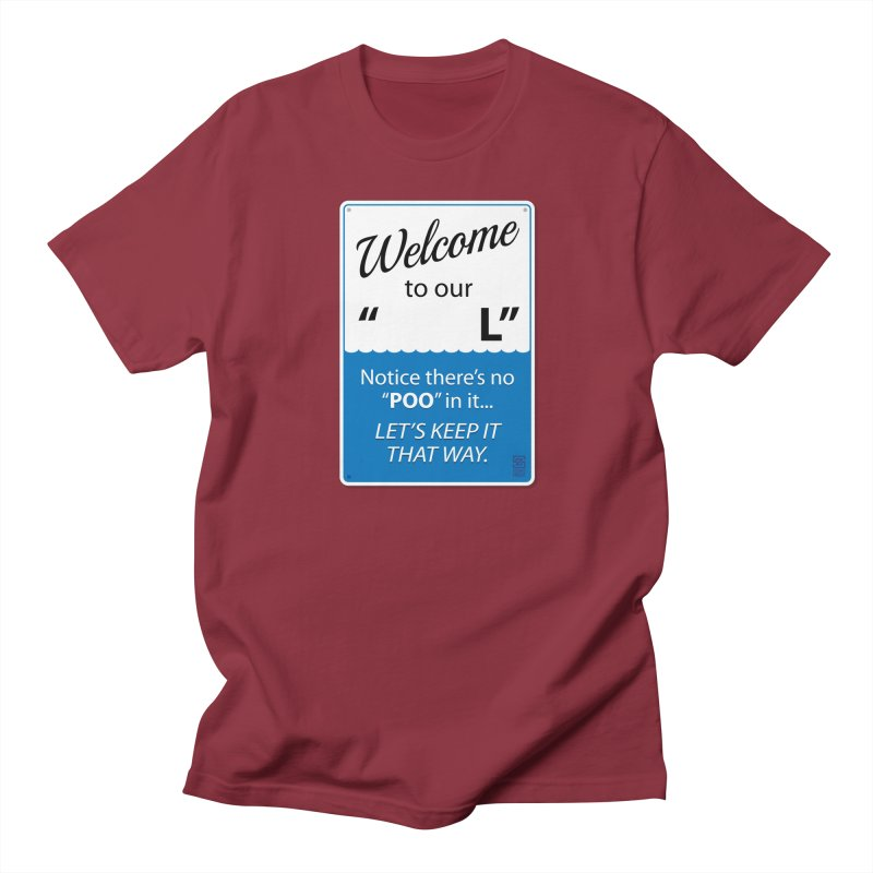 "Welcome To Our ""___L"" Men's Regular T-Shirt by Zachary Knight 