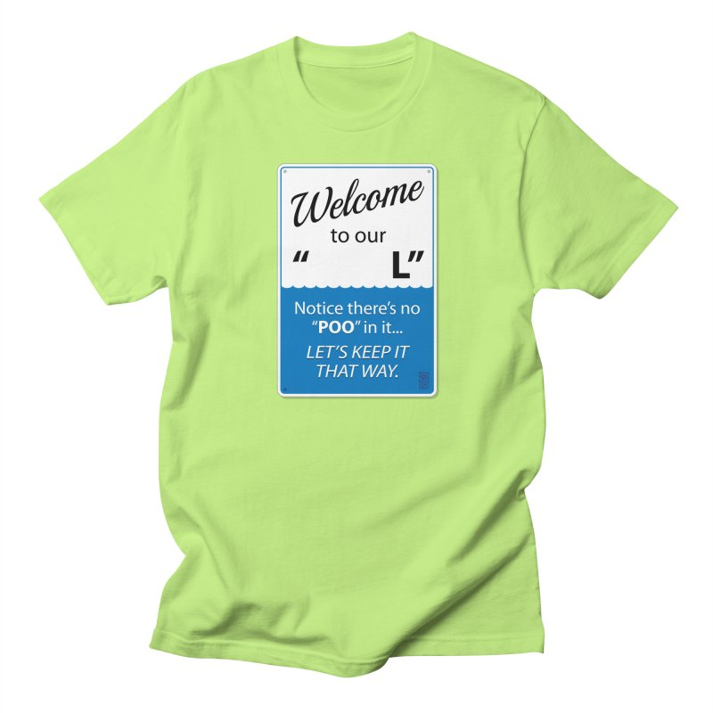 """Welcome To Our """"___L"""" Men's T-Shirt by Zachary Knight 