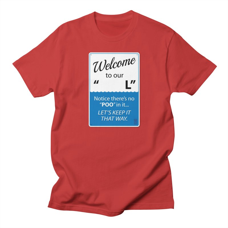 """Welcome To Our """"___L"""" Men's Regular T-Shirt by Zachary Knight 