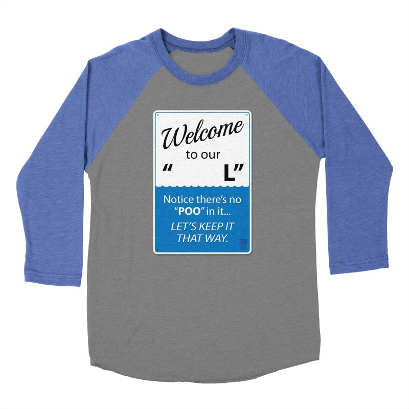 """Welcome To Our """"___L"""" Women's Baseball Triblend Longsleeve T-Shirt by Zachary Knight   Artist Shop"""