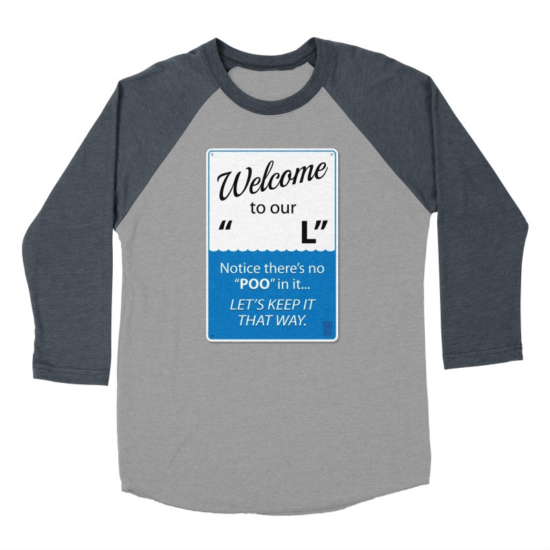"Welcome To Our ""___L"" Women's Baseball Triblend Longsleeve T-Shirt by Zachary Knight 