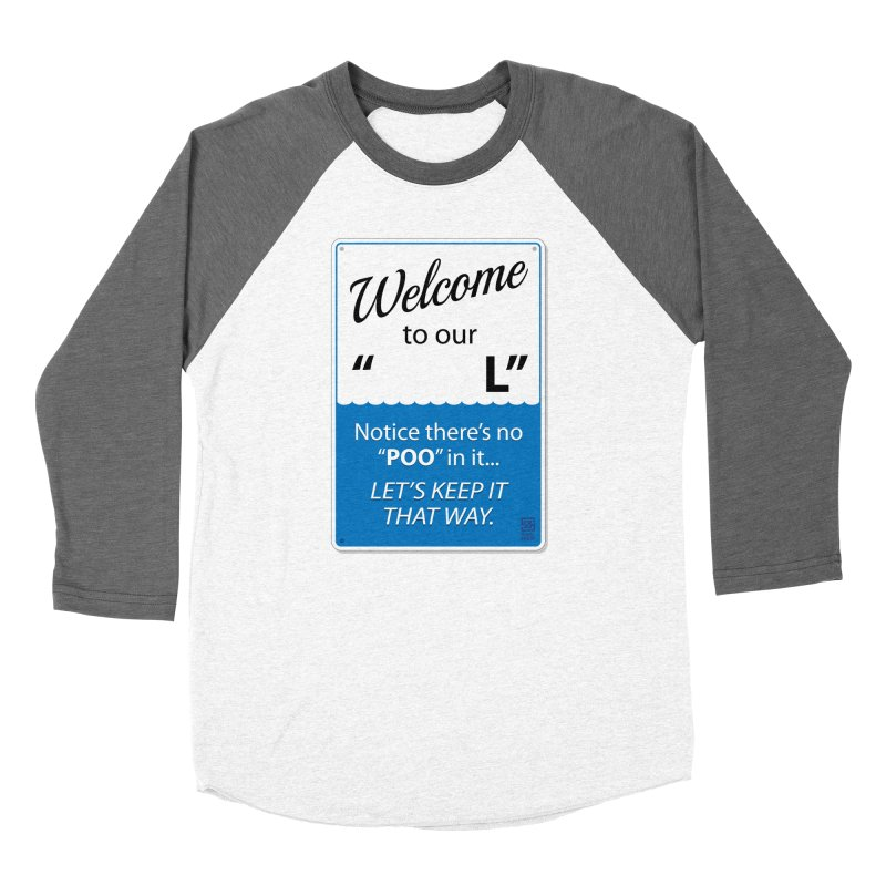 "Welcome To Our ""___L"" Men's Baseball Triblend T-Shirt by Zachary Knight 