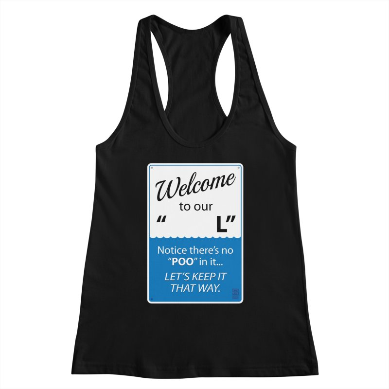 """Welcome To Our """"___L"""" Women's Tank by Zachary Knight 