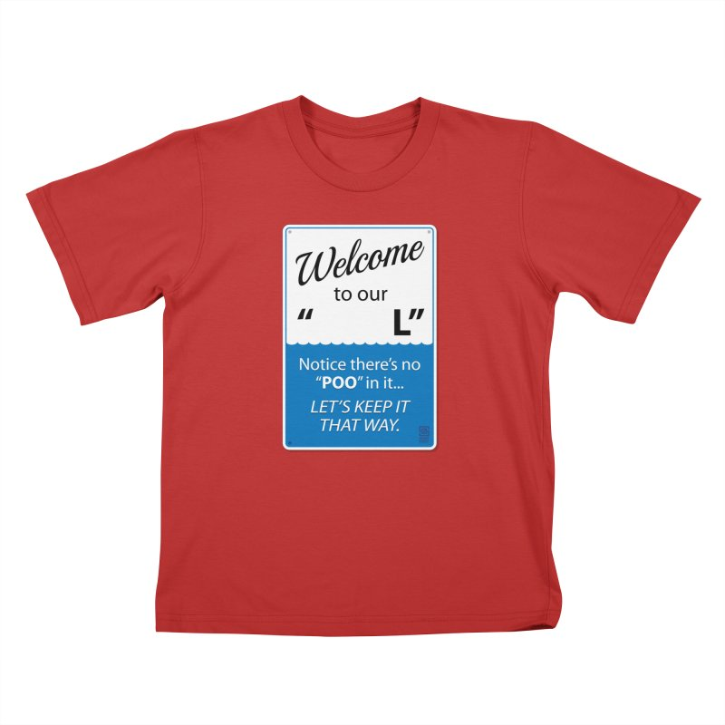 """Welcome To Our """"___L"""" Kids T-Shirt by Zachary Knight 