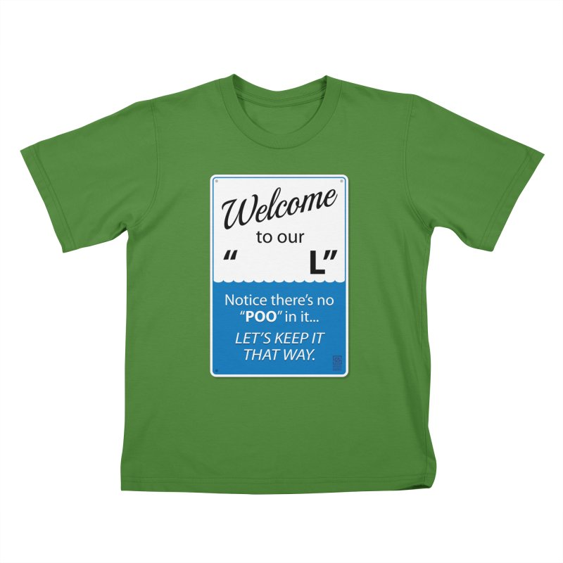 "Welcome To Our ""___L"" Kids T-shirt by Zachary Knight 