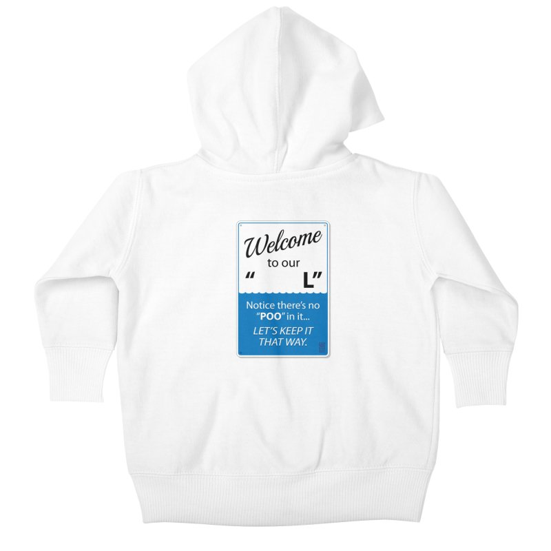 """Welcome To Our """"___L"""" Kids Baby Zip-Up Hoody by Zachary Knight   Artist Shop"""