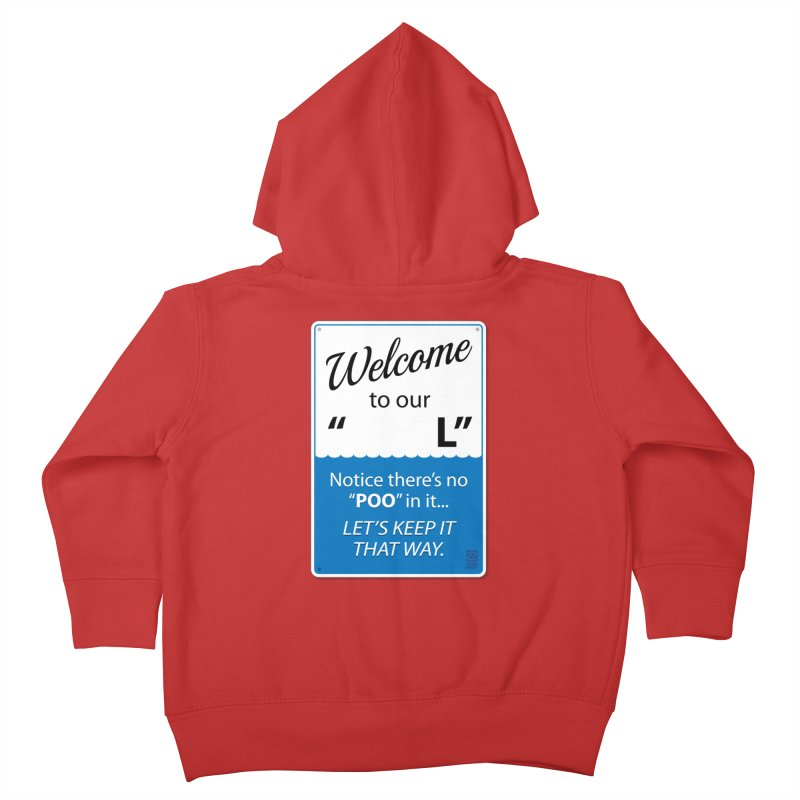 """Welcome To Our """"___L"""" Kids Toddler Zip-Up Hoody by Zachary Knight 