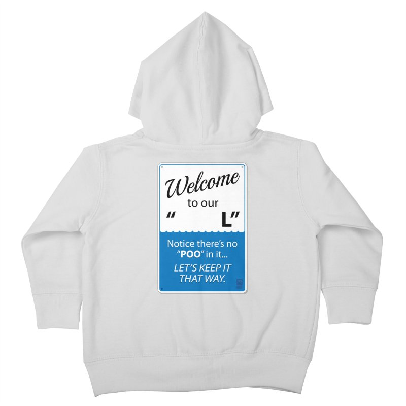 "Welcome To Our ""___L"" Kids Toddler Zip-Up Hoody by Zachary Knight 