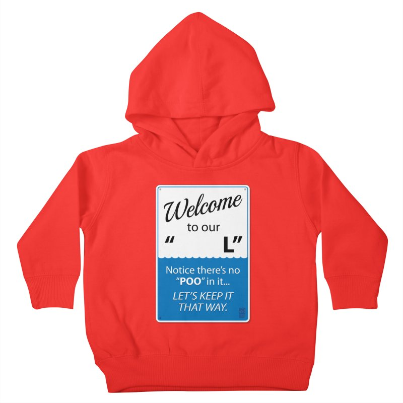 """Welcome To Our """"___L"""" Kids Toddler Pullover Hoody by Zachary Knight   Artist Shop"""